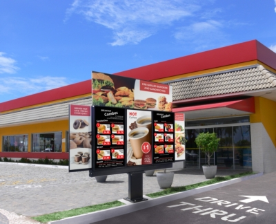 Peerless-AV® Showcases Xtreme™ Outdoor Digital Menu Boards and Mounts at NRA Show, Booth 8422