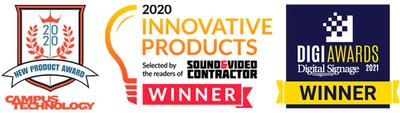 Planar Recognized with Three Technology Awards for New, Industry-Leading Display Innovations