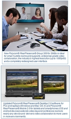 Polycom Announces New Portfolio of Mid-Market Solutions that Make Feature-Rich Video Collaboration More Affordable and Easier to Use and Manage
