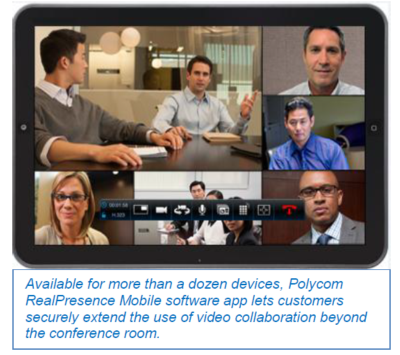 Polycom Unveils RealPresence® Mobile 3.0 and RealPresence® Desktop 3.0, Showcases