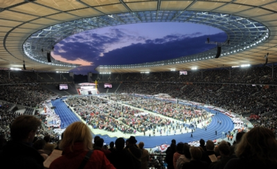 Electro-Voice provides for maximum intelligibility during the Papal Mass in Berlin's Olympic Stadium