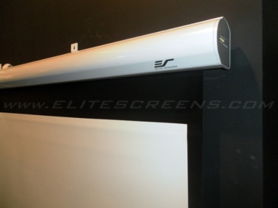 PowerMax, the New Electric Roll-Up Projection Screen from Elite