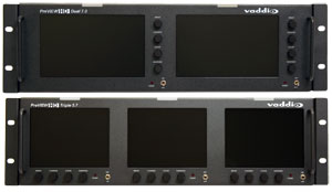 Vaddio Announces New High Definition Series LCD Rack Mount Monitors