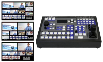 Vaddio Adds Further Usability to ProductionVIEW HD MV Camera Control Console with Built-In Multiviewer