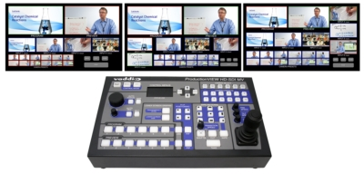 Vaddio Shipping ProductionVIEW HD-SDI MV Camera Control Console with Multiviewer