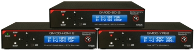 Contemporary Research To Demonstrate New QMOD-HD Modulator/IPTV Encoders at InfoComm 2014
