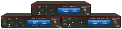 Contemporary Research Introduces Three Next-Generation QMOD-HDTV Encoder Modulators at InfoComm 2013