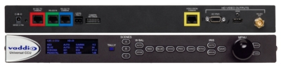 Vaddio Debuts New Universal Quick-Connect CCU for ClearVIEW HD PTZ Cameras at InfoComm 2012