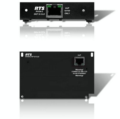 RTS Intercom Systems Introduces RVON-2 VoIP Card for CLD Color Keypanels