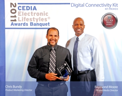 Atlona's Digital Connectivity KIT Wins CEDIA's Manufacturing Excellence Award
