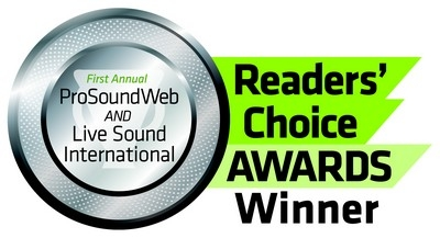 Electro-Voice wins THREE ProSoundWeb and Live Sound International Readers' Choice Awards!