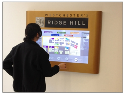Interactive Digital Directory Shows Patients the Way