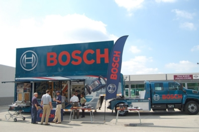 Bosch Hosts Special Roadshow Event at Indianapolis Motor Speedway