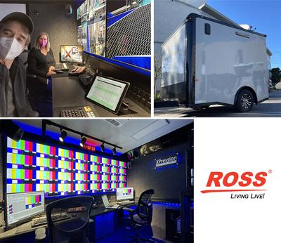James Stevens Keeps Clients On-Air with Mobile Ross XPression Suite