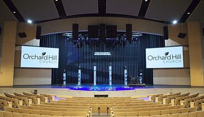 Orchard Hill Church Upgrades Master Control Room with Carbonite Ultra, XPression, and Ultrix