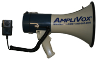 AMPLIVOX MITY MEGS! Megaphones For Emergencies and Cowd Control - S601-S602-S602M