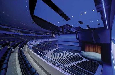 Shaping Video, Sound, Acoustics for A New Texas Performing Arts Center
