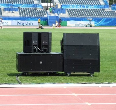 Electro-Voice Sound for World Junior Track and Field Event