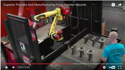Superior Process And Manufacturing From Premier Mounts