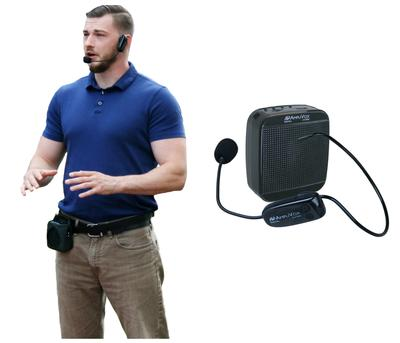 AmpliVox Unveils New 2.4 GHz Digital Belt Blaster Personal PA System
