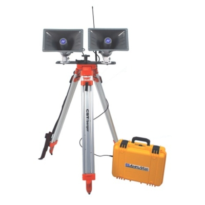 AmpliVox All-Weather Hailer Provides Emergency Sound Under Any Conditions