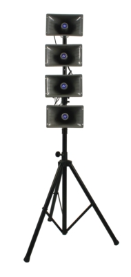 AmpliVox Maximizes Portable Outdoor Sound with New Mobile Line Array Hailer System