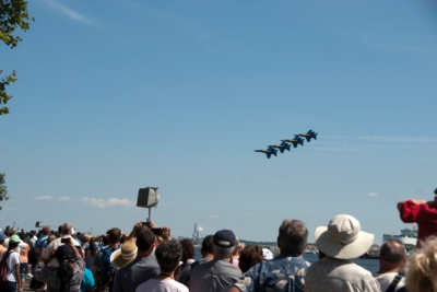 Continental Air Show Productions Pumps Star Spangled Sailabration with Community