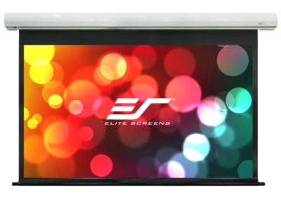 Saker Enhanced Electric Projection screen from Elite is now available to the US and European AV Marketplace