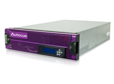 Autocue Launches Highly Versatile Two-Port Video Server