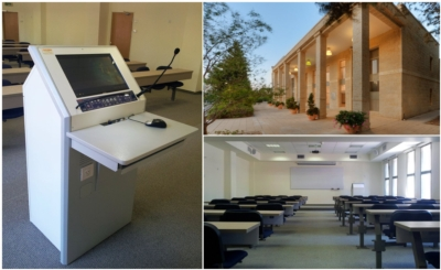 New Liberal Arts College Opens its Gates with TecPodium Interactive Lecterns!