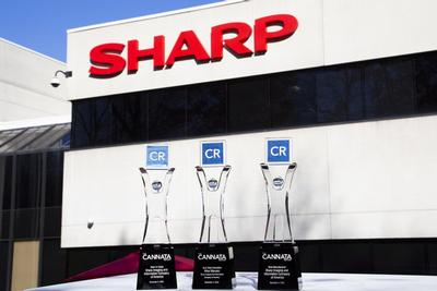 Sharp Wins Three Top Awards at The Cannata Report's Annual Imaging Industry Event