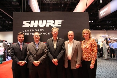 SHURE NAMES AUDIO BIZ MICHIGAN AS REP OF THE YEAR