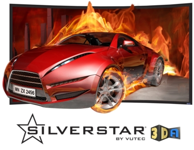 Optimal Screen Solutions for 3D Projection TV: Vutec's SilverStar 2D/3D-A and 2D/3D-P