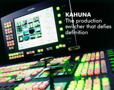 Sinclair Broadcast Group Standardizes on Kahuna SD/HD Production Switcher for HD News Upgrade