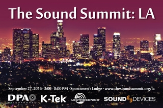 Lectrosonics, DPA Microphones, Sound Devices, and K-Tek to Host The Sound Summit Los Angeles