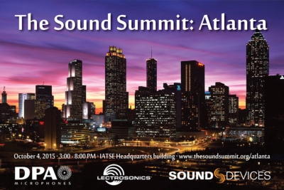 DPA Microphones, Lectrosonics and Sound Devices to  Host Regional Sound Summit Event in Atlanta