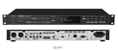 TASCAM Expands Professional Blu-ray Line with BD-MP1  Professional-Grade Blu-ray Player