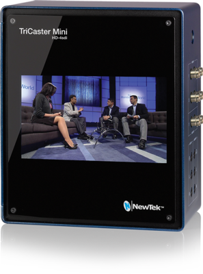 TriCaster Mini Line Expands With New HD-SDI Model