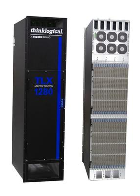 Thinklogical Introduces the TLX1280, Industry's Largest 10G Matrix Switch, at InfoComm 2019