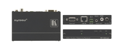 Kramer Introduces the TP-123-od/TP-124-od Twisted Pair Transmitter/Receiver Pair with EMP Protection