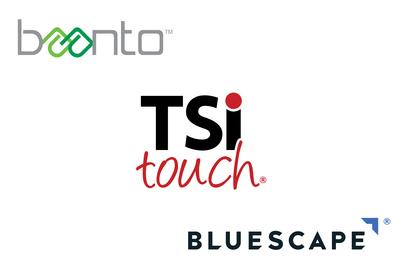 TSItouch, Baanto ShadowSense™, and Samsung Solution Certified by Bluescape for Collaboration