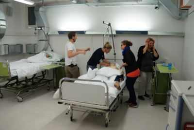 Community Provides Audio Reality for Medical Simulation Center