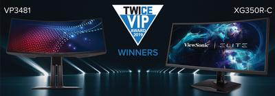 ViewSonic Wins Two 2019 TWICE VIP Awards