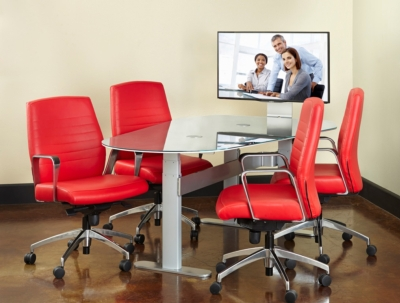 AVTEQ Launches Height-Adjustable Collaboration Table at NeoCon East
