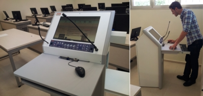 "College Expands – More Tecom ""TecPodium Rooms"" Delivered!"