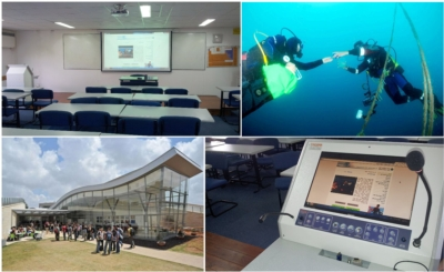 School of Marine Sciences – Old Friendship, New TecPodiums!