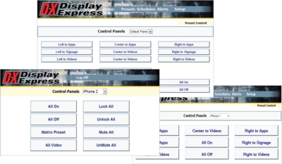 Display Express Users Can Now Configure Control Panels For Any Number of Individuals