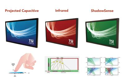 The Differences Between Infrared, ShadowSense, and Projected Capacitive Touch