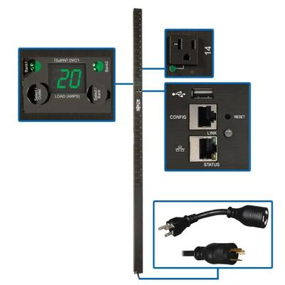 Tripp Lite's New Monitored PDUs Make Power per Outlet Reporting Easy