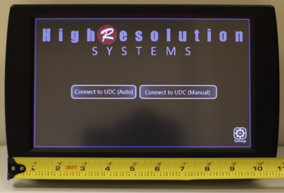 High Resolution Systems Introduces UDC-Touch for  Touchscreen Device Control at NAB 2011